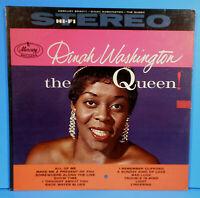 DINAH WASHINGTON THE QUEEN! LP 1959 STEREO ORIGINAL NICE CONDITION! VG/VG+!!
