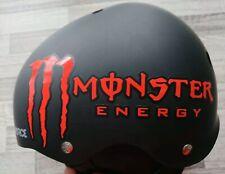 2x Monster Aufkleber Set Sticker Tuning Turbo Kawasaki Yamaha Honda KTM Rot