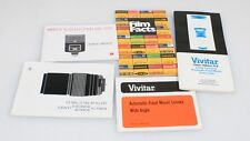 Photographic Brochures Mixed Lot Set Of 5
