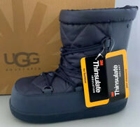 UGG Australia NEUME Snow Boots Kids Size 4 Fits WOMEN US6 NIB #1003744 Midnight