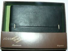 NEW Joseph Abboud Genuine Leather Handmade Hipster Wallet