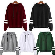Damen Kapuzenpullover Hoodie Sweatshirt Pullover Kapuzenpulli Langarm Sweater DE