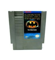 Batman The Video Game (Nintendo Entertainment System) NES Authentic Tested