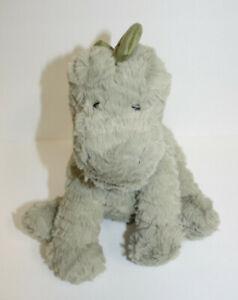Jellycat London Bashful Green Dinosaur Small Stuffed Plush Toy