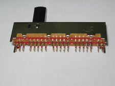 switch, slide switch, 8p4t