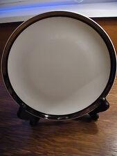 Vintage Bone China Salad Plate, Mikasa, Solitude Pattern, Contemporary, Silver