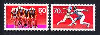 Germany Berlin 1978 Mi 567-568 Sc 9NB146-147 MNH Sport types Cycling  fencing **