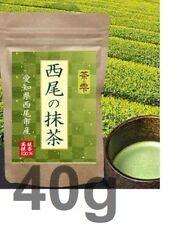 Matcha powder, Nishio Japan, 100% matcha powder 40g, Cha no Shizuku, Green tea