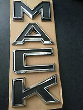Brand New In Pack Genuine Mack Bonnet Letters M A C K Badge Set Part # 230SX6