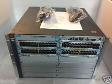 J9448A Hp 5412-92G-PoE /4Sfp zl Switch with rackear and power cord