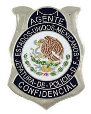 Mexican Secret Service Badge