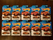 Hot Wheels 2017 '17 Nissan GT-R (R35) Orange HW Nightburnerz #1/10 (Lot of 10)