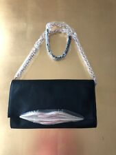 Diane von Furstenberg Carolina Lips leather Clutch Bag