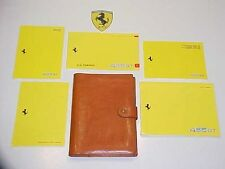 Ferrari 456 Leather Pouch_Owners Manual_Warranty Card_Dealer Directory GT US OEM