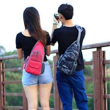 Fashion Camera Travel DSLR Bag Backpack Shoulder Sling Chest For Nikon Canon