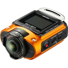 Ricoh WG-M2 Action Camera in Orange
