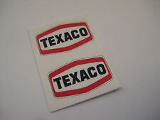 Corgi Junior 97 Texaco Petrol Tanker Stickers - B2G1F