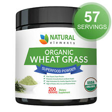 Wheatgrass Powder - USDA Certified Organic Wheat Grass Powder