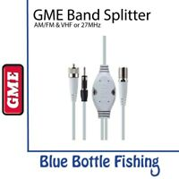 NEW GME AM/FM & VHF or 27MHz Band Splitter- SPL002 from Blue Bottle Marine
