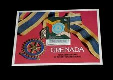 GRENADA #964, 1980, ROTARY INTERNATIONAL, SOUVENIR SHEET, MNH, NICE! LQQK