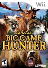 Cabela's Big Game Hunter (Nintendo Wii, 2007) LN WITH Manual & FAST LOW SHIPPING