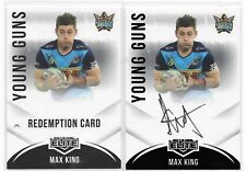 2018 NRL Elite Young Guns Signature (YG 5) Max KING Titans 23/90