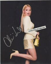"""OLIVIA HOLT """"I DIDN'T DO IT"""" IN PERSON SIGNED 8X10 COLOR PHOTO 1 """"PROOF"""""""