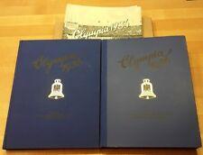 Olympia 1936 Band 1+2, beide Bände gebundene Sammelalben, komplett inkl.Kartons!