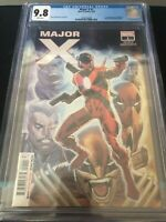MAJOR X #1 1ST APP OF MAJOR X CGC 9.8 MARVEL COMICS 2019 ROB LIEFELD