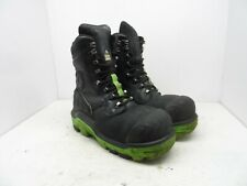 DUNLOP Men's 8'' Composite Toe Composite Plate Leather Work Boot DLNA16100 10M