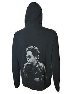 Rare Love Revolution Lenny Kravitz Hoodie Sweatshirt Black Adult Medium