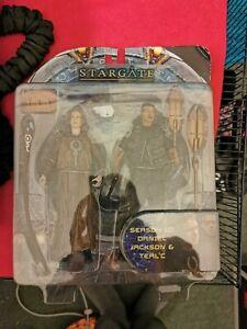Stargate SG1  Diamond Select Jackson And Tealc Figures