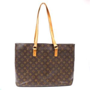 LOUIS VUITTON Handbag Monogram Luco M51155