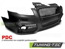 PARAURTI ANTERIORE AUDI A4 04-08 RS STYLE BLACK PDC