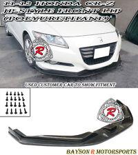 JP-Style Front Lip (Urethane) Fits 11-12 Honda CR-Z 2dr
