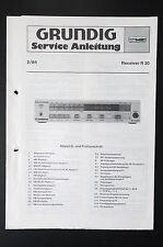 GRUNDIG RECEIVER R 30 Original Service-Manual/Service-Anleitung/Schaltplan! o31