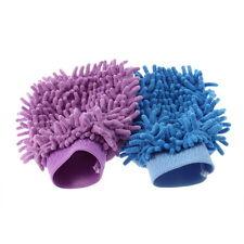 Super Mitt Microfiber Household Car Wash Washing Cleaning Glove Anti Scratch GU