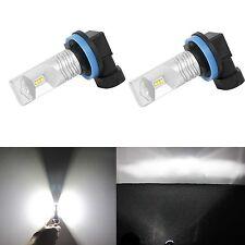 JDM ASTAR 2x H16 White LED Fog DRL Day time Running Cornering Driving Light Bulb