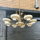 Vintage 50's Mid Century Space Age Ceiling Light Fixture Paavo Tynell Style