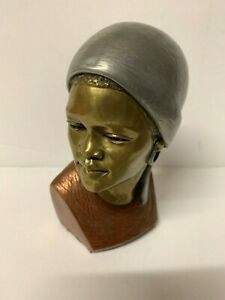 Casper Darare Bust Sculpture of African Female Limited Edition 53 / 400