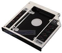 2nd DISQUE DUR HD SSD Optique Caddy adaptateur pour HP ProBook 6560b 6565b 6570b