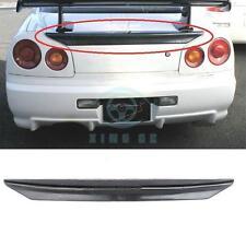 FRP Auto Rear Wing Fit For Nissan R34 GTT GTR 1999-02 Trunk Spoiler
