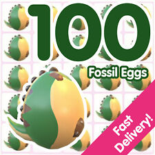 Bundle of 100 Fossil Eggs   Roblox Adopt Me!