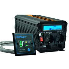 Convertisseur 2000W/4000W Onduleur DC 24V AC 220V With Affichage numérique LCD