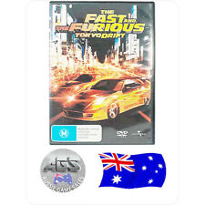 The Fast and the Furious: Tokyo Drift (DVD) - VGC - Region 4 - Zachery Ty Bryan