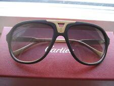 Ladys Sunglasses v MUST HAVE DE CARTIER AVIATOR Goldplated m Logos+ Box SHNP