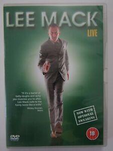 Lee Mack - Live (DVD, 2007)