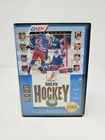 NHLPA Hockey '93 (Sega Genesis, 1992) Authentic Tested