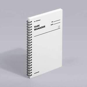 MOTEMOTE White Task Manager Planner | 100 Days - USA located!