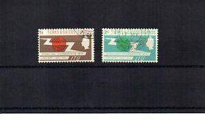 Turks & Caicos Is. - 1965 Internat Telecoms Union - 2 stamp set (SG 258/259)
